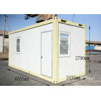 China Insulated Dormitory Conex Box Homes , Modular shipping container homes on sale