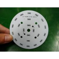 High Power Round LED PCB / Aluminum Base PCB White / Black / Blue / Red Solder Mask Manufactures