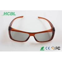 OEM / ODM Cinema 3d movie glasses , 45/135 Polarized 3D Eyewear A91 Manufactures