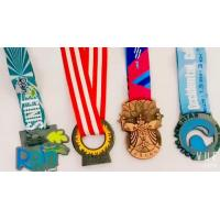 OEM Design Half Marathon Medals , Custom Competition Medals Sports Theme Manufactures