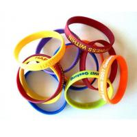 Custom Red Yellow Black Blue Silicone Bracelet Watch Eco - Friendly Manufactures