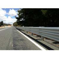 China Wide Application Highway Steel Guardrail , Vehicle Guard Rail Anti Aging on sale