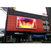 P6 P8 P10 Led Outdoor Display Board Full Color 1R1G1B SMD3535 LED Chip 35w