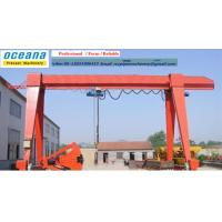 Gantry Crane of electric hoist or Winch , 3-20 Lifting Capacity, Span 6-30 meter Manufactures