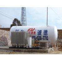 China 5 CBM Vaccum Powder Insulation LNG Cryogenic Liquid Storage Tank on sale