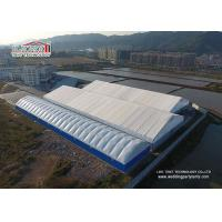 China 1000sqm Large PVC Industrial Outdoor Warehouse Tent Structures Steel Frame on sale