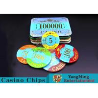Quality Mini Engraved Customizable Casino Poker Chips For Entertainment Venues Games for sale