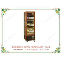 OP-409 Logo Printed Accepted Freezer Wine Cooler Single Temperature Freezer Manufactures