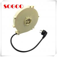 Auto Retractable Extension Cord / Cable Reel Assembly For Repair Shops Manufactures