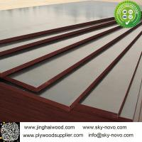 China Brown film face plywood 18mm shuttering boards/formwork on sale