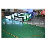 Taxi LED Display P 5 SMD, Video Taxi Top LED Display with Customized Design for sale