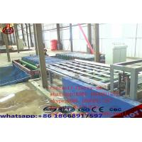Decorative Magnesium Oxide Board Production Line Capacity 2000 Sheets / Shift Manufactures
