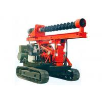 China Crawler Hydraulic Pile Driver/Crawler Auger Piling Drill Rig on sale