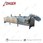 Vegetable Blanching Machine|Potato Chips Blanching Machine|Automatic Potato Chips Cooking and Blanching Machine Manufactures