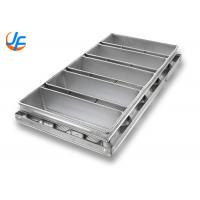 1.5mm Aluminum Loaf Pans Special Strap Pullman Bread Pan For Industry Manufactures