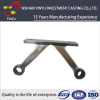 OEM Machinery Parts Handle Steel Investment Casting With Cnc Precision Machining Manufactures