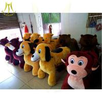 China Hansel adult ride on toys motorized battery coin animal scooters ride on lawn mower for family parties and events on sale
