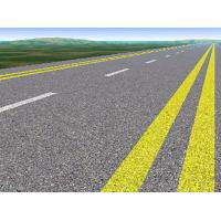 Quality Thermoplastic Road Markings Paint Solid Acrylic Resin Good Adhesion And Flexibility for sale