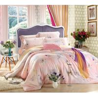 Embroidery Reactive Printed Home Bedding Sets , Home Bedding Comforter Sets Manufactures
