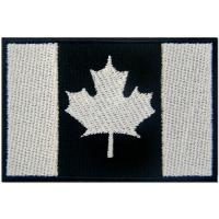 Canada Flag USA Embroidered Cloth Badges Patches Felt Paper Backing