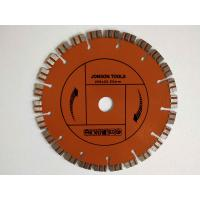 China 200 Mm Laser Welded Diamond Blade Concrete Saw With Double Turbo Segments on sale