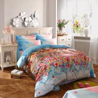 100 Percentage Cotton Fabric Home Bedroom Bedding Sets Most Comfortable Manufactures