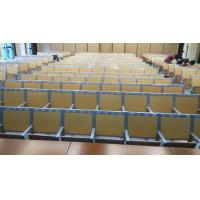 College Furniture School Fixed Table And Chair / Lecture Hall Ladder Classroom Desk Manufactures