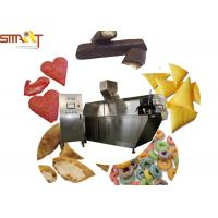China PLC Controlled Snack Food Extruder Machine , Puffed Food Extruder Easy To Use on sale