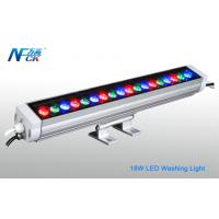 High Power 18w IP65 RGB 30°LED Wall Washing Light With 18pcs LED Manufactures