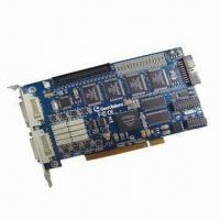CCTV 16CH PC-based DVR Card, Powerful Functions, Supports 16 Cameras Manufactures