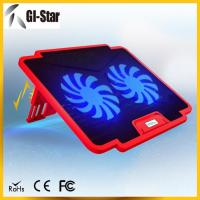 5 adjustable angles, 2 USB2.0 HUB, 2 fan ,Laptop coolers with different colors Manufactures