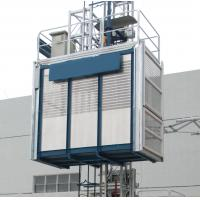 1.6T Construction Elevator Vertical Rack and Pinion Hoist 3 × 1.4 × 2.5m Manufactures