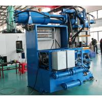 Electronic Control Hydraulic Rubber Moulding Machin , High Output Rubber Injection Moulding Machine Manufactures