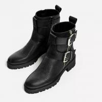 Ladies Fashion Boots with PU upper and TPR outsole low heel for sexy women