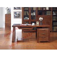 Solid Wood Antique Design Furniture Desk with Drawers in Home Study Room use Manufactures