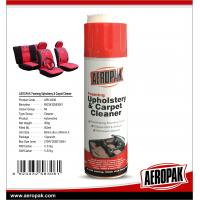 AEROPAK 400 ml Automotive Car Care Products MSDS Upholstery Carpet Foamy Cleaner with high quality Manufactures