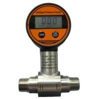 China 9VDC high accuracy Intelligent Differential Pressure Gauges 4-digit LCD display on sale