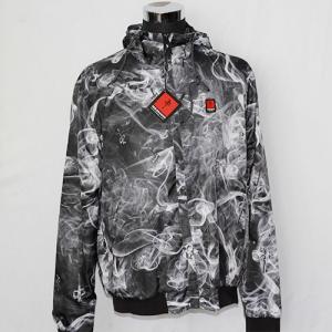 Polyester Poplin Thin Windbreaker Jacket , Unisex Waterproof Windbreaker Jacket Manufactures