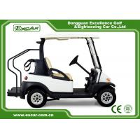China CE Approved Electric Used Golf Carts With Trojan Batteried Curtis Controller on sale