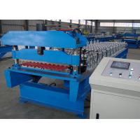 Galvanized Corrugated Roofing Sheet Roll Forming Machine Production Line for sale