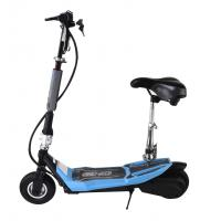 China Fashion Small Foldable Adult Electric Scooter With Seat , 24V Li-Ion Battery on sale