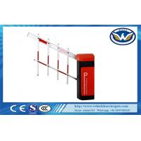 Led Light Rubber Boom Road Safety Traffic Barrier Gate For Access Control System Manufactures
