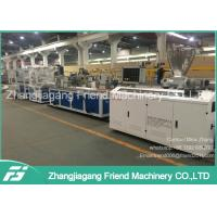 37kw Motor Power PVC Ceiling Panel Extrusion Line For Household  0-4m/Min Speed Manufactures
