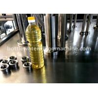 China 3000BPH Soybean Oil 1L Plastic Bottle Filling And Capping Machine 2-In-1 on sale