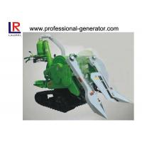 10HP Mini Combine Rice Agriculture Harvester with 178F Diesel Engine , Gear Drive Type Manufactures