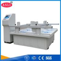 Large Capacity Packaging Testing Equipment Carton Simulation Transportation Vibration Tester Manufactures