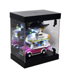 China Acrylic LED Lighting Display Case on sale