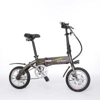Chopper Electric Mountain Bike , Small Folding Electric Bike Max Load 120kg Manufactures