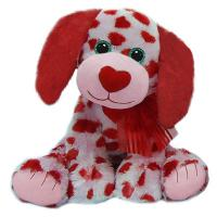 Cute Plush Toy Dogs Valentines Day Stuffed Toys with Embroidery Logo Manufactures