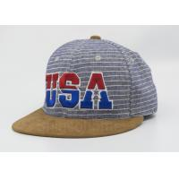 Fashion Colorful Snapback Acrylic Baseball Caps 3D Embroidery With Metal Buckle Manufactures